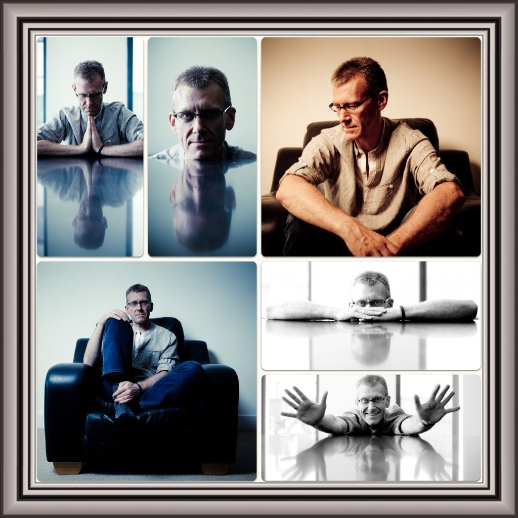Portrait shoot for Bob Holroyd – Composer, Producer & Remixer of Ambient Chillout World Electronica Music