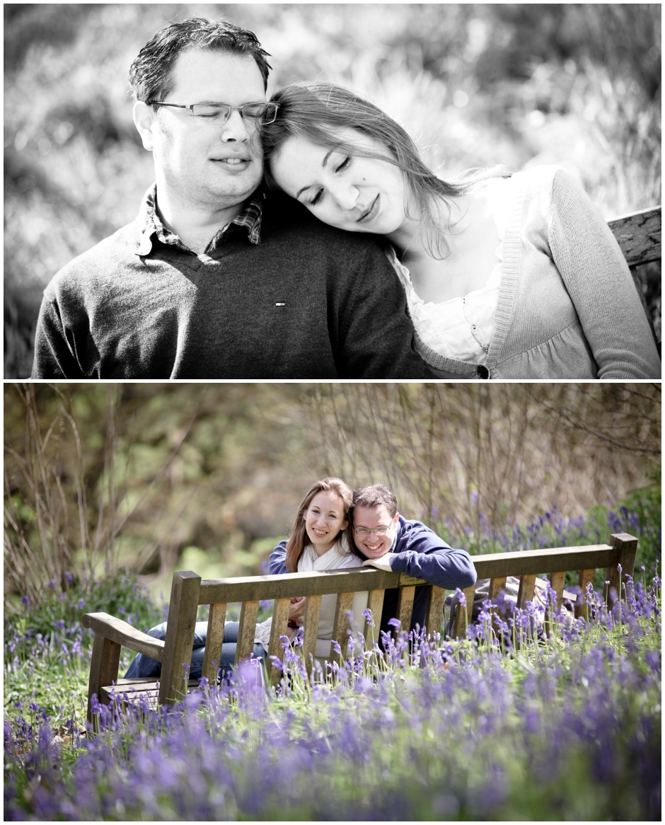 Michelle & James' Spring Engagement Photoshoot, Winkworth Arboretum, Surrey