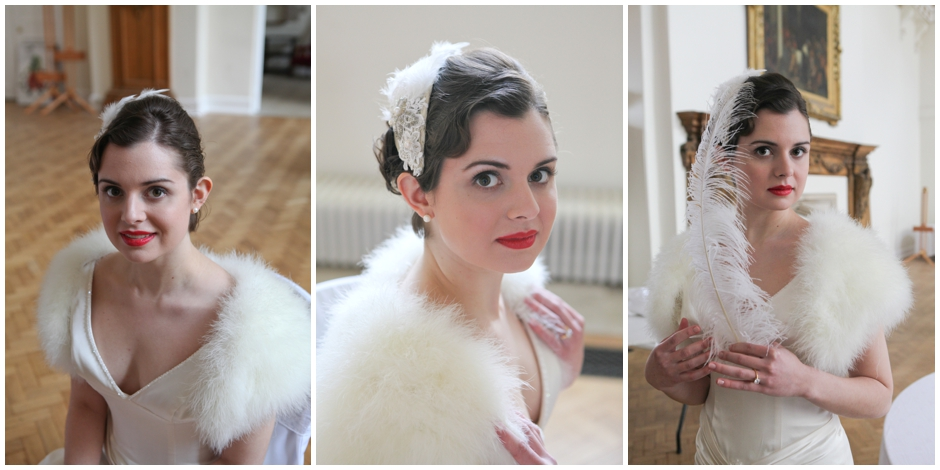 Behind the scenes at Farnham Castle – Vintage Glamour Wedding Inspiration