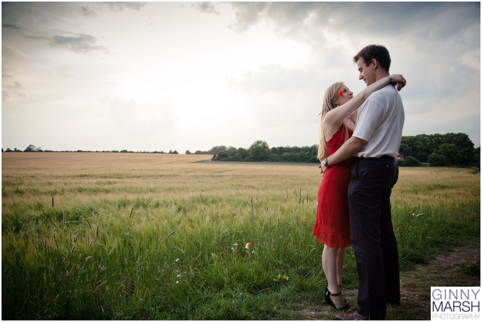 A Pre-Wedding Photoshoot in the beautiful Hampshire countryside