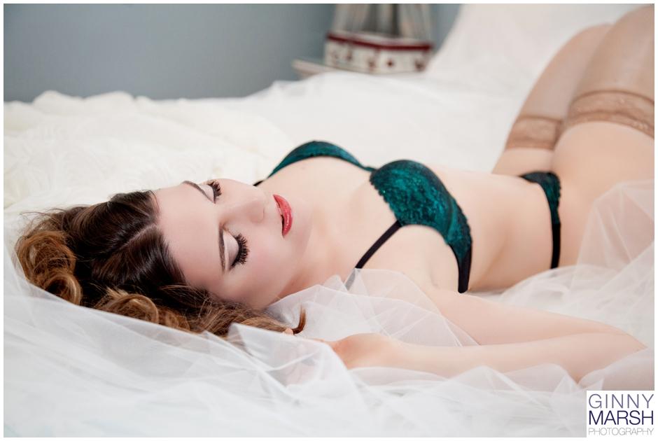 Mature wife boudoir nude photography