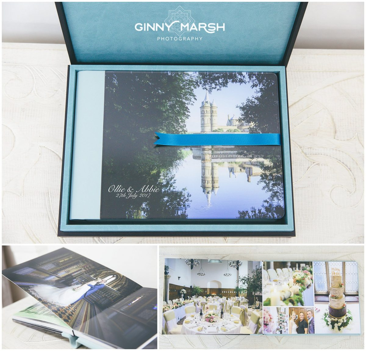 Surrey wedding photographer | Wedding Albums | Ginny Marsh Photography