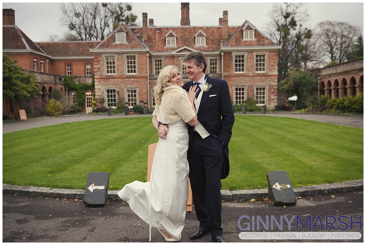 Lainston House Winter Wedding