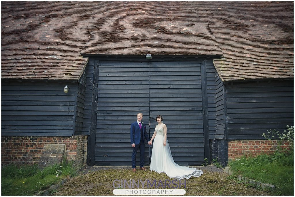 Helen and Matt Wanborough Great Barn Wedding