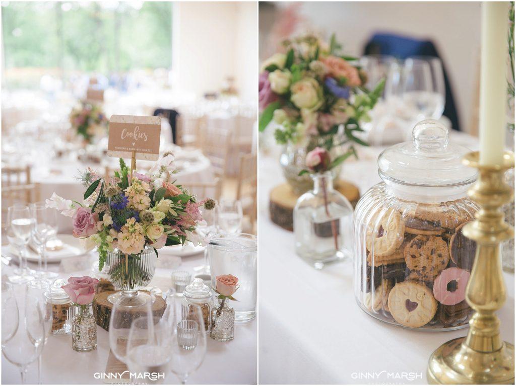 Rustic Pastel Summer Wedding With Sweet Treats Millbridge Court Surrey