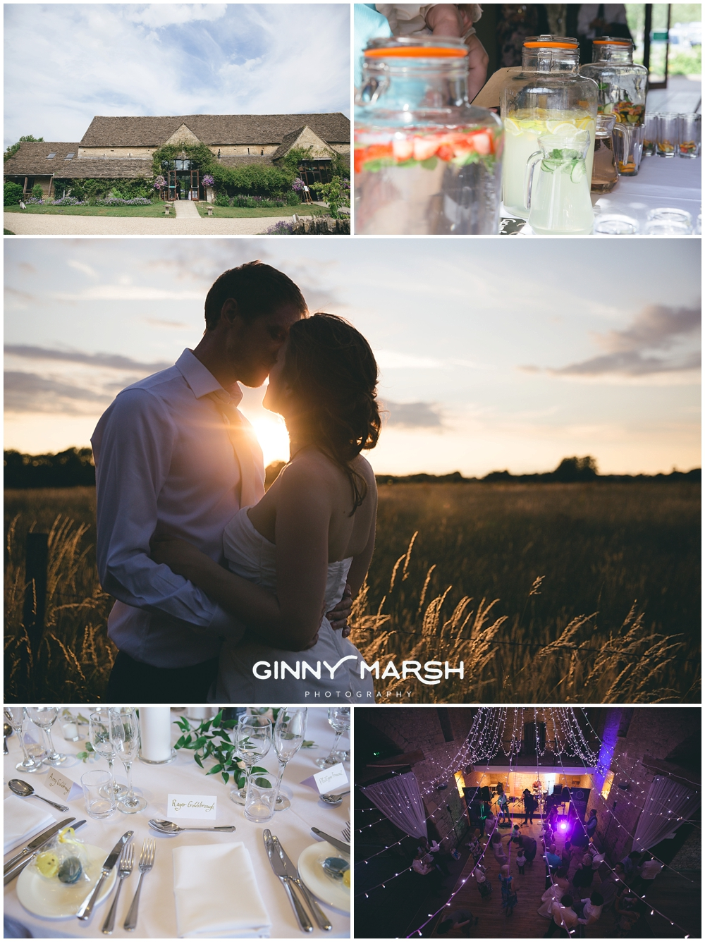 Great Tythe Barn Cotswolds | Ginny Marsh Photography