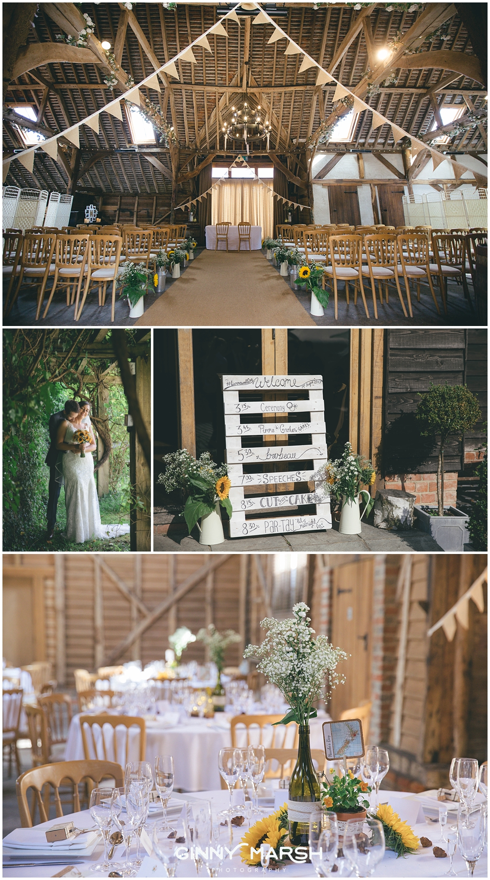Herons Farm Barn Wedding Venue | Ginny Marsh Photography