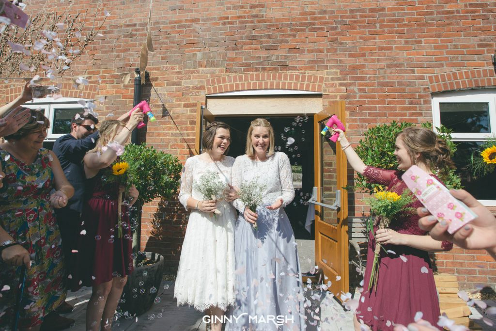 Same Sex Wedding, Balmer Lawn Hotel