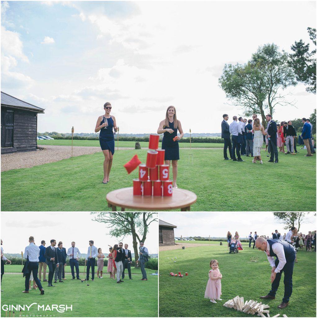 The Long Barn Wedding
