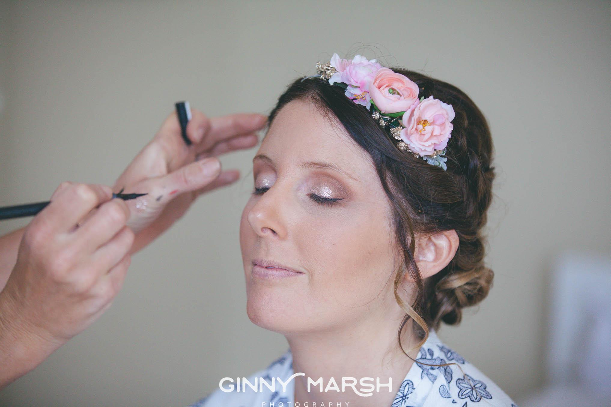 Tunnels Beaches wedding makeup