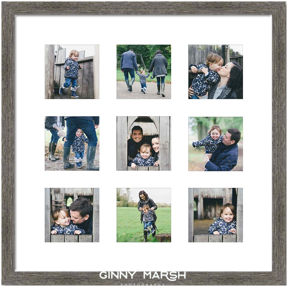 Surrey family photographer, storyboard frame