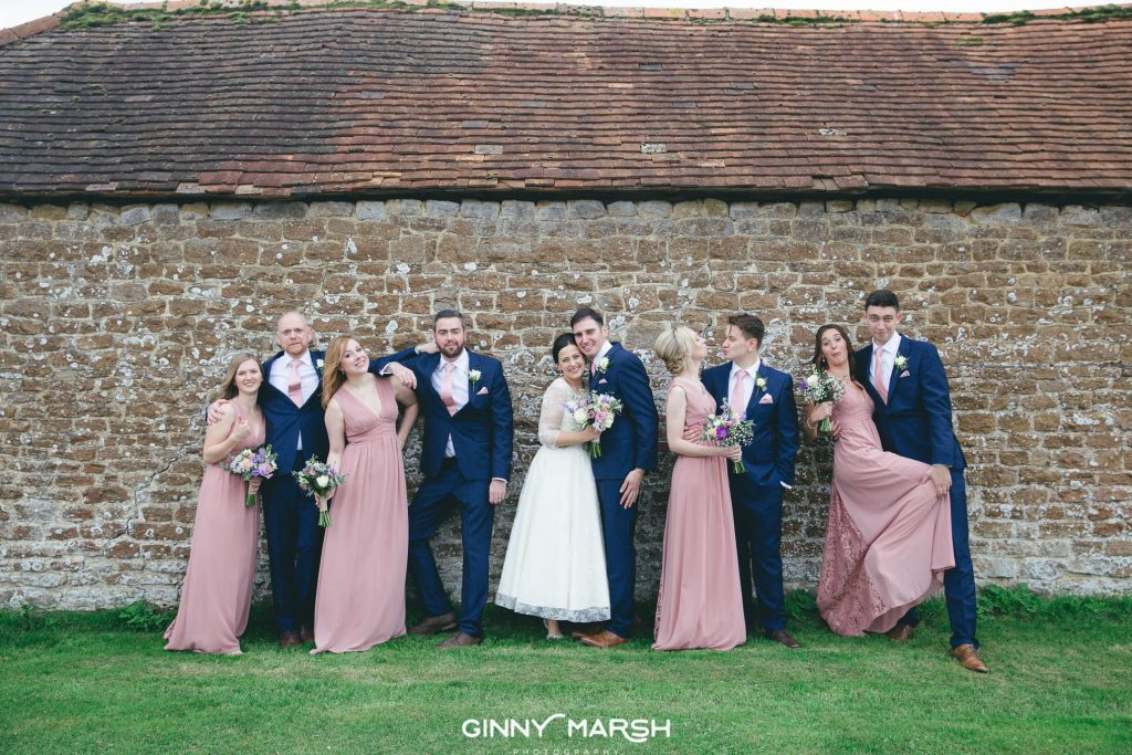Clock Barn Hall Wedding