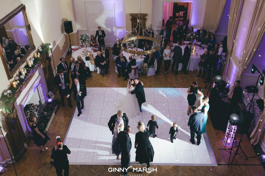 Farnham Castle Christmas Wedding