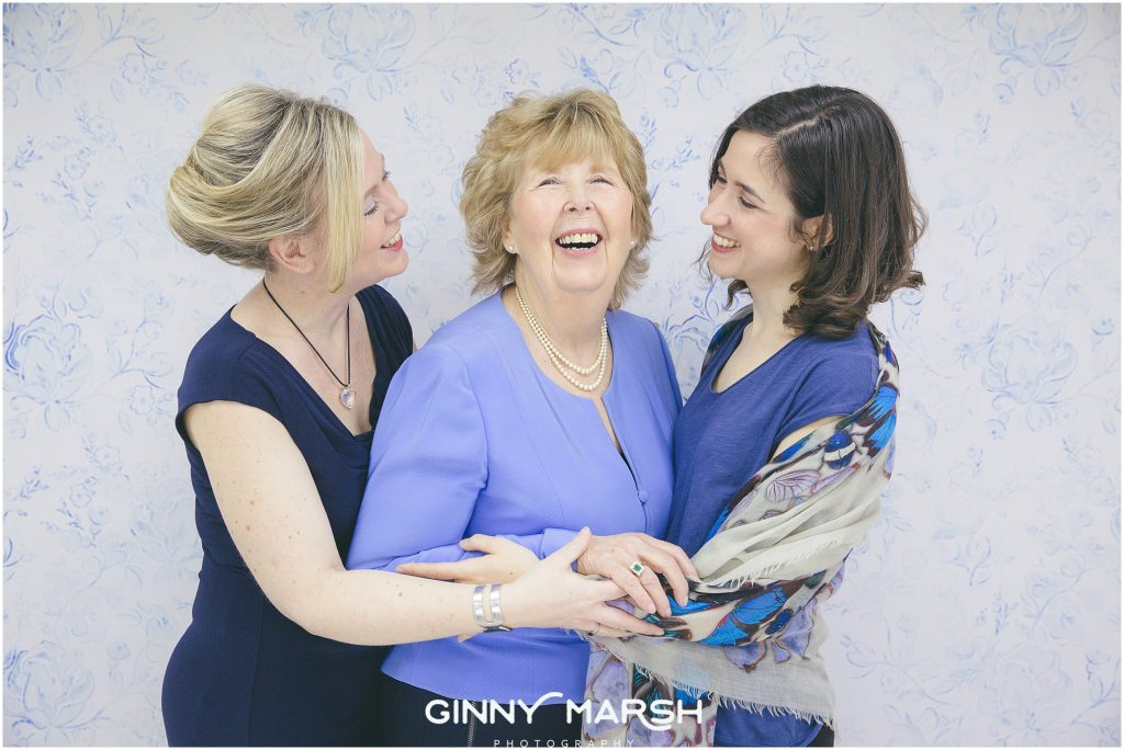 Mother's Day makeover portrait shoot | Ginny Marsh Photography