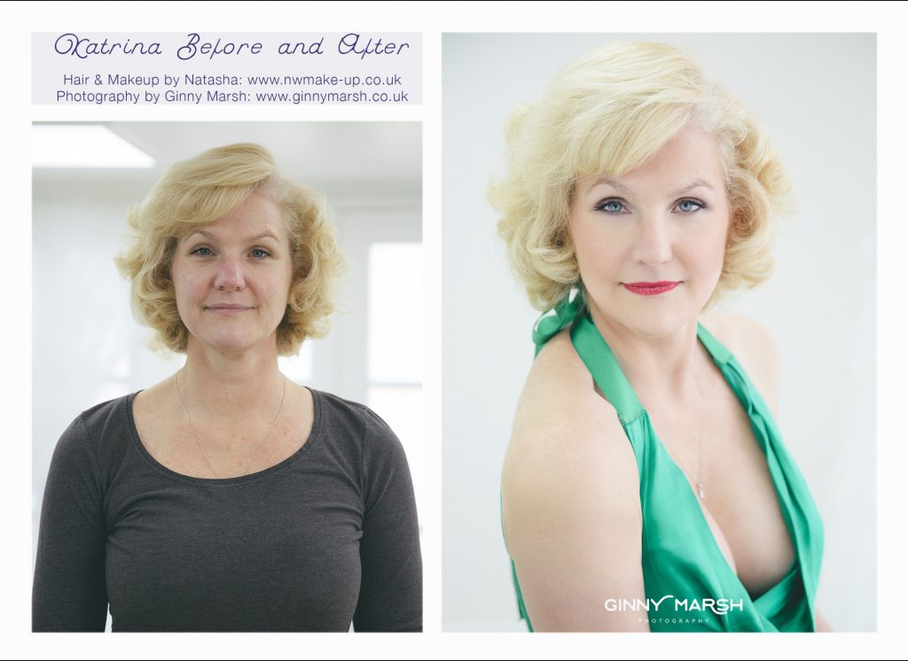Before and after transformation | Ginny Marsh Photography