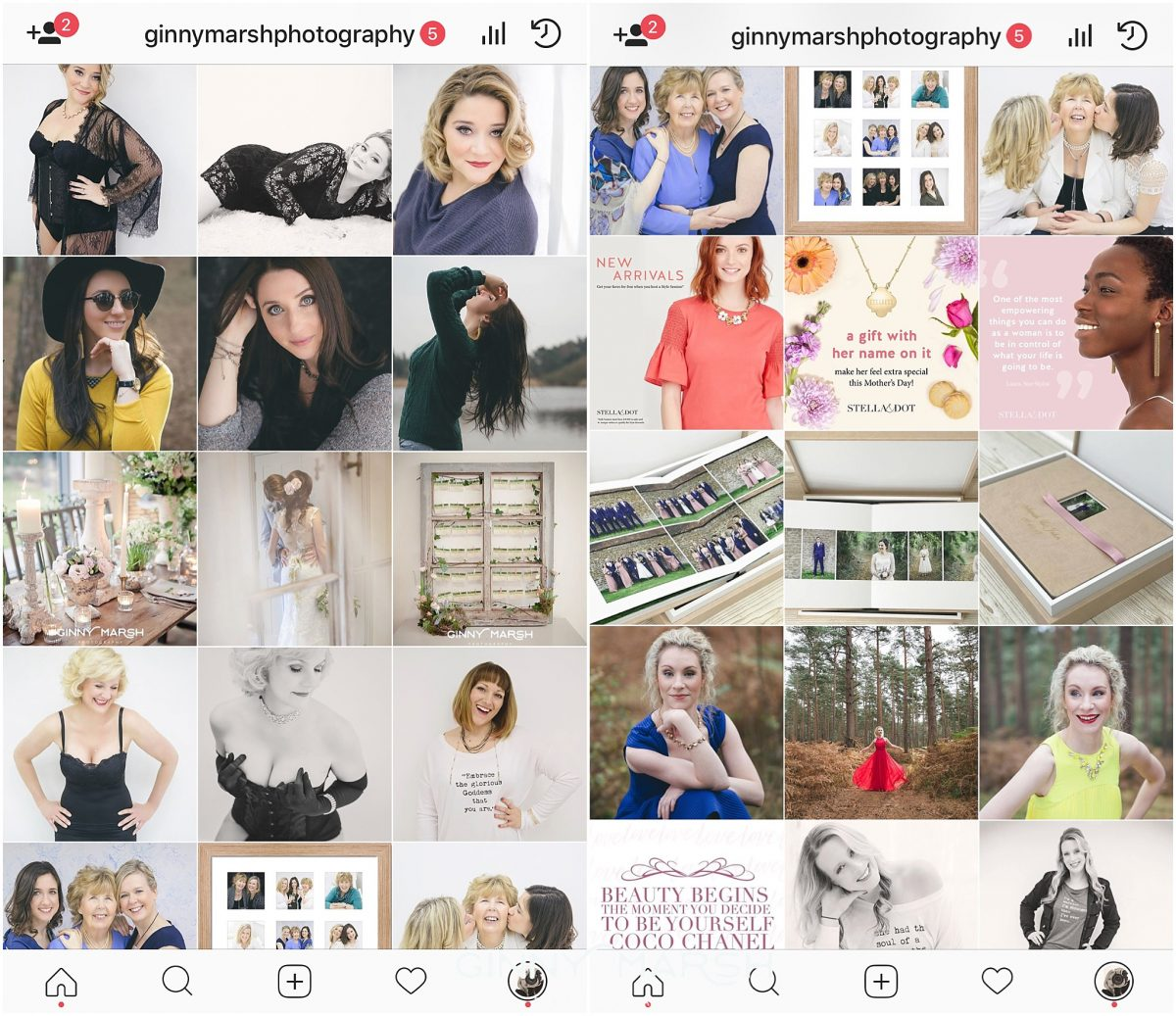 Ginny Marsh Photography Instagram Feed