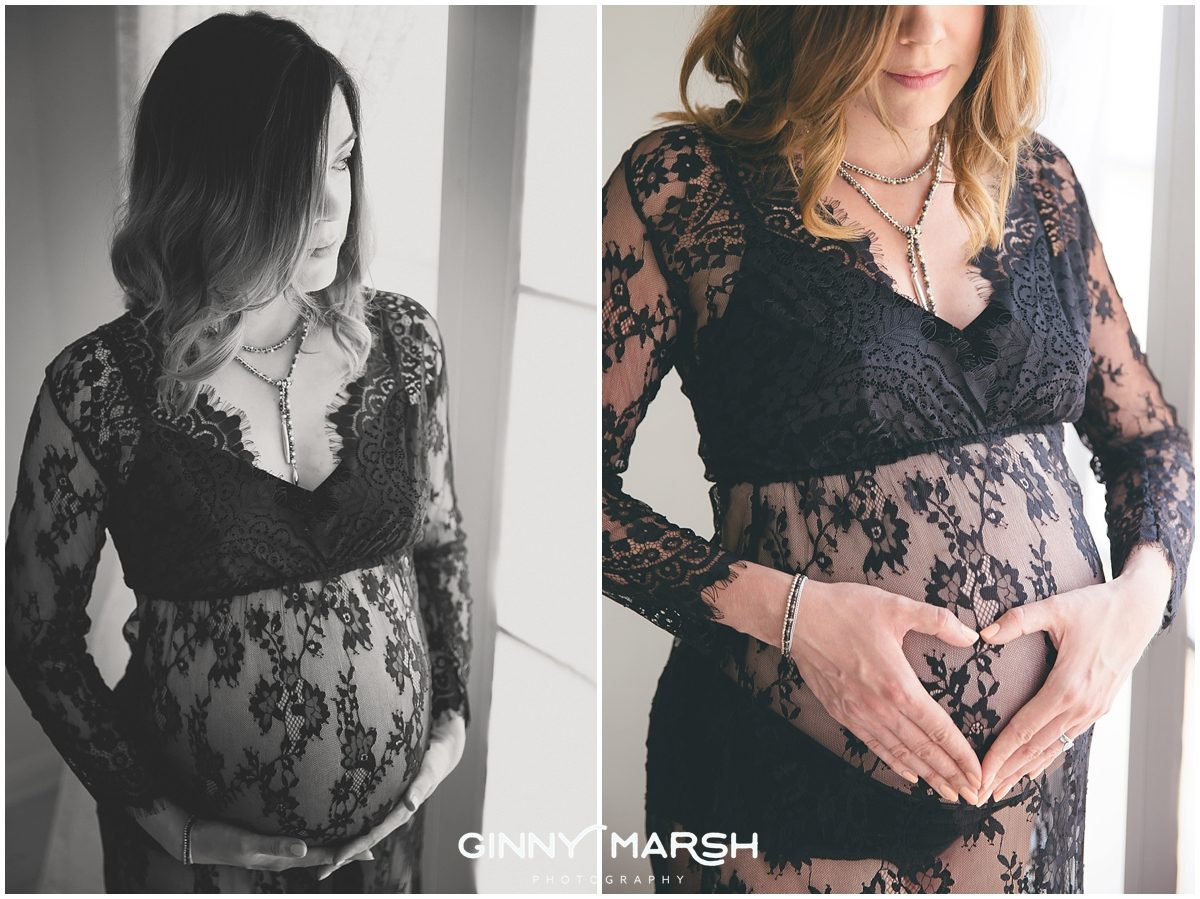 Pregnancy Boudoir Shoot | Ginny Marsh Photography