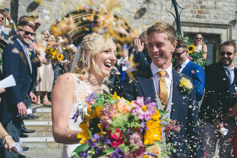 Natural relaxed wedding photography Surrey