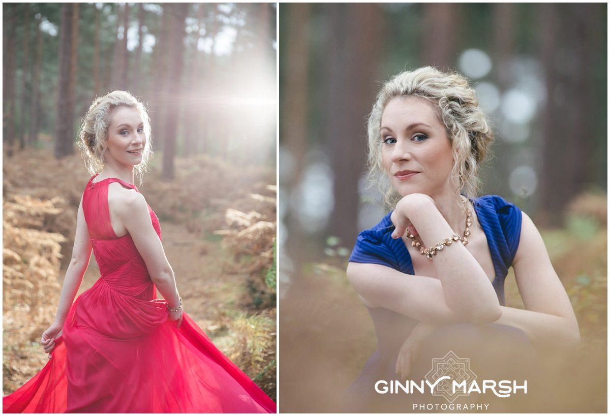 Sarah, Branding shoot for an Opera singer | Ginny Marsh Photography