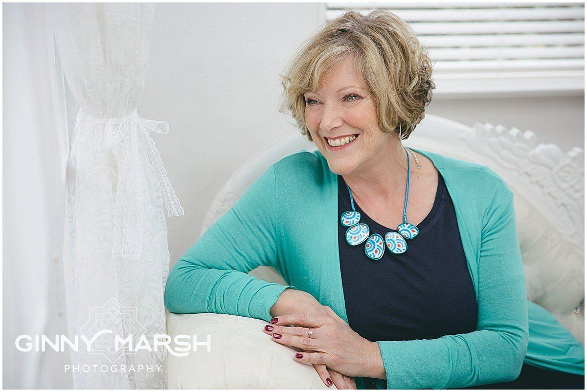 Jenny T's Makeover portrait shoot | Ginny Marsh Photography