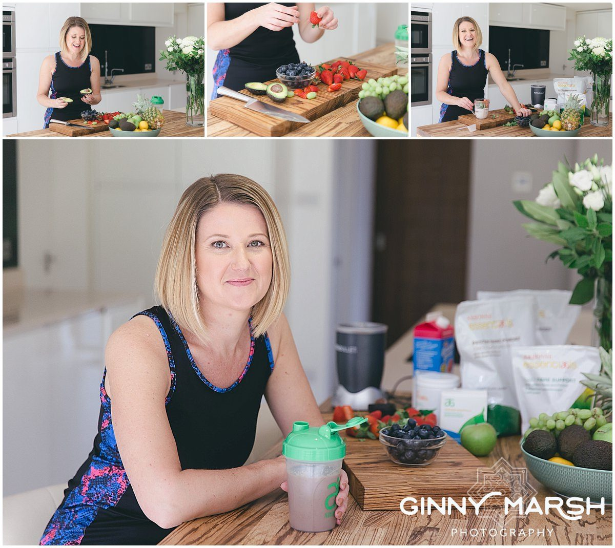 A Personal Branding Shoot for Charlotte: An Arbonne Consultant & Mortgage Advisor.