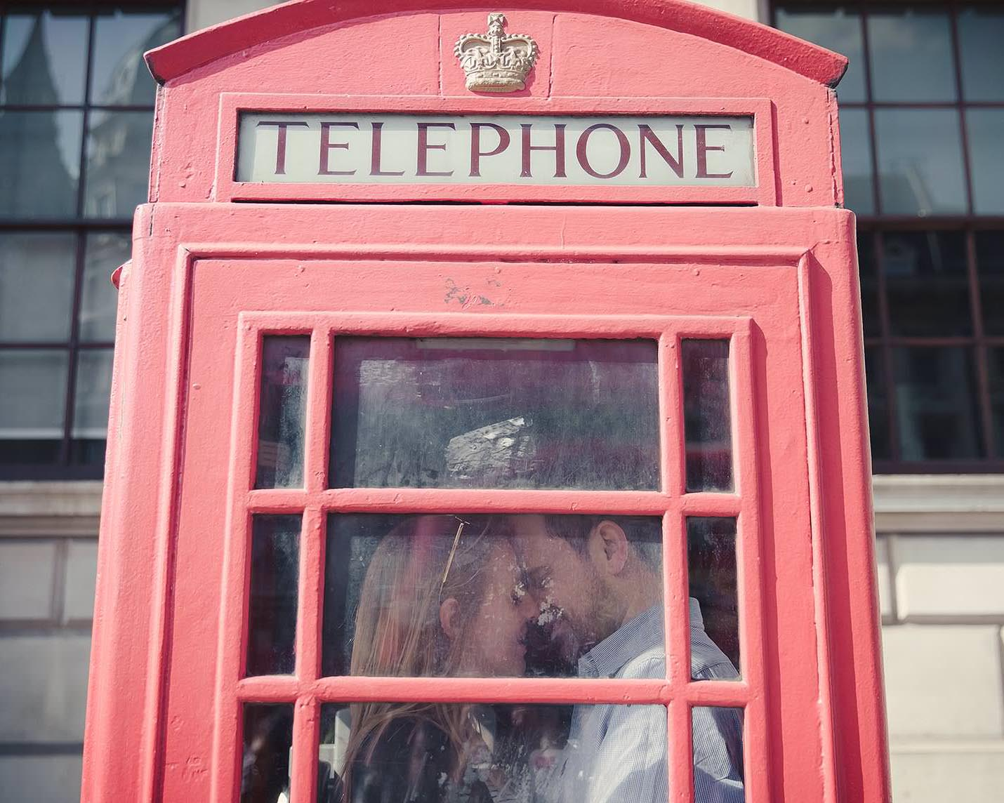 Red London telephone box | Ginny Marsh Photography