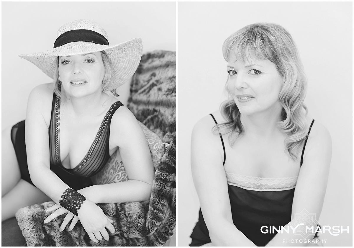 Katrina's Fabulous at 50 boudoir shoot