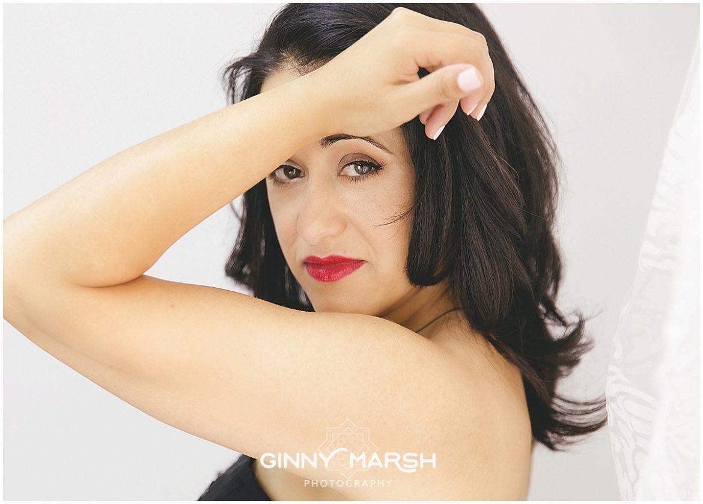 Mrs S. glamorous portrait shoot to celebrate weight loss | Ginny Marsh Photography