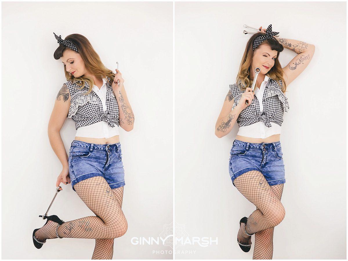 Sammy - competition winner & domestic abuse survivor   Ginny Marsh Photography