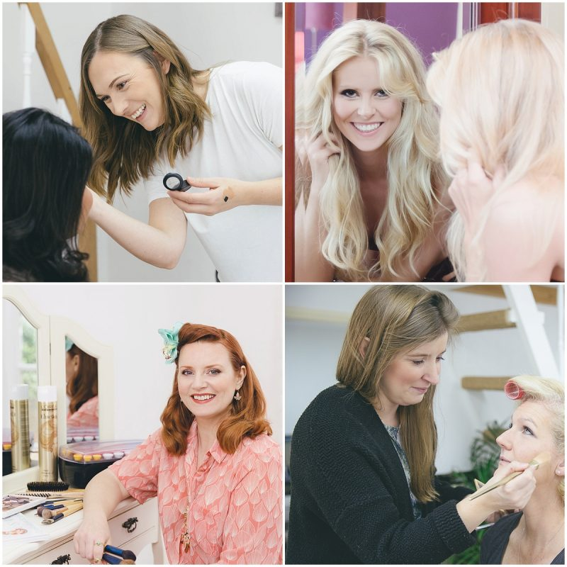 GMP Hair & Makeup artists