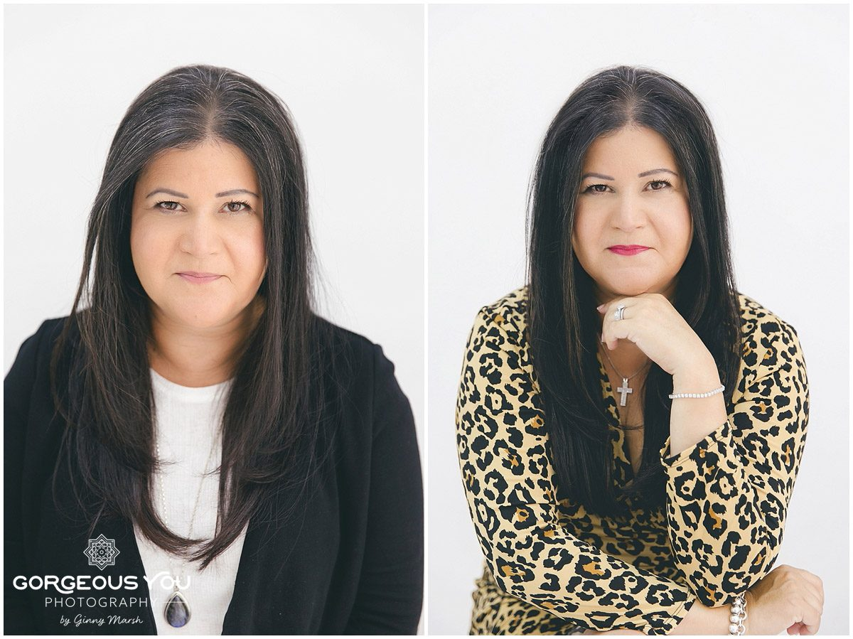 Headshot mini shoot day at the Gorgeous You Photography Studio