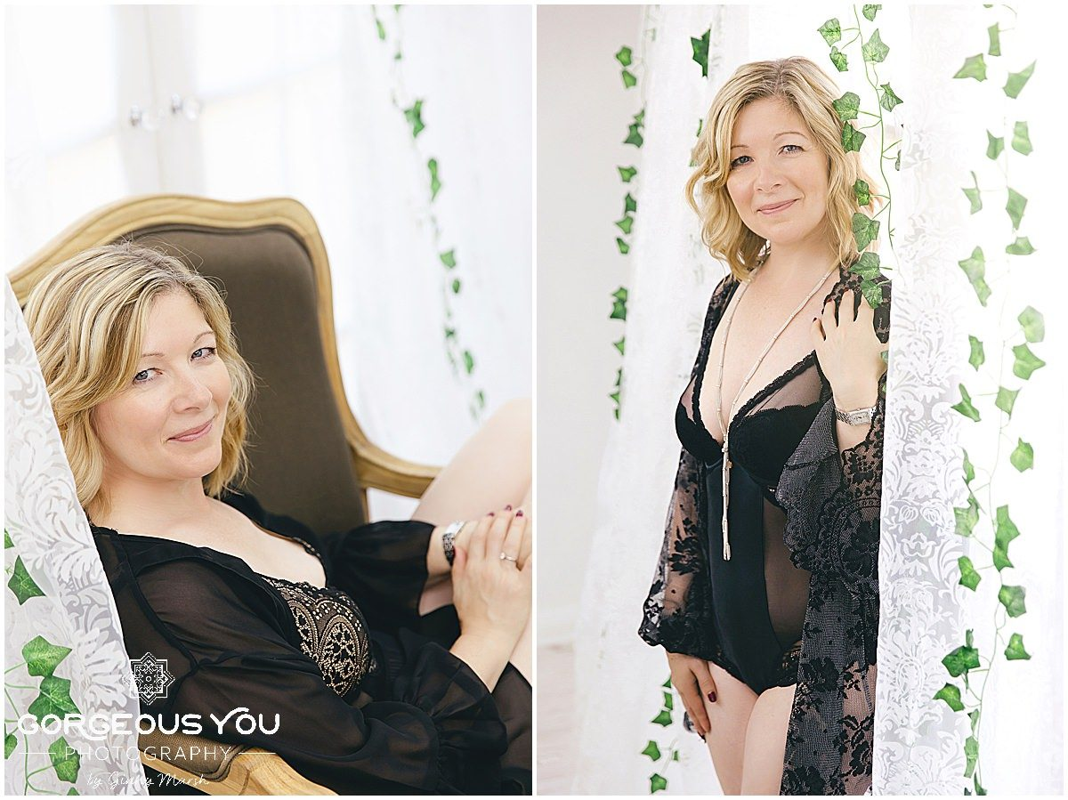 Sharon's 50th Birthday Boudoir Photoshoot