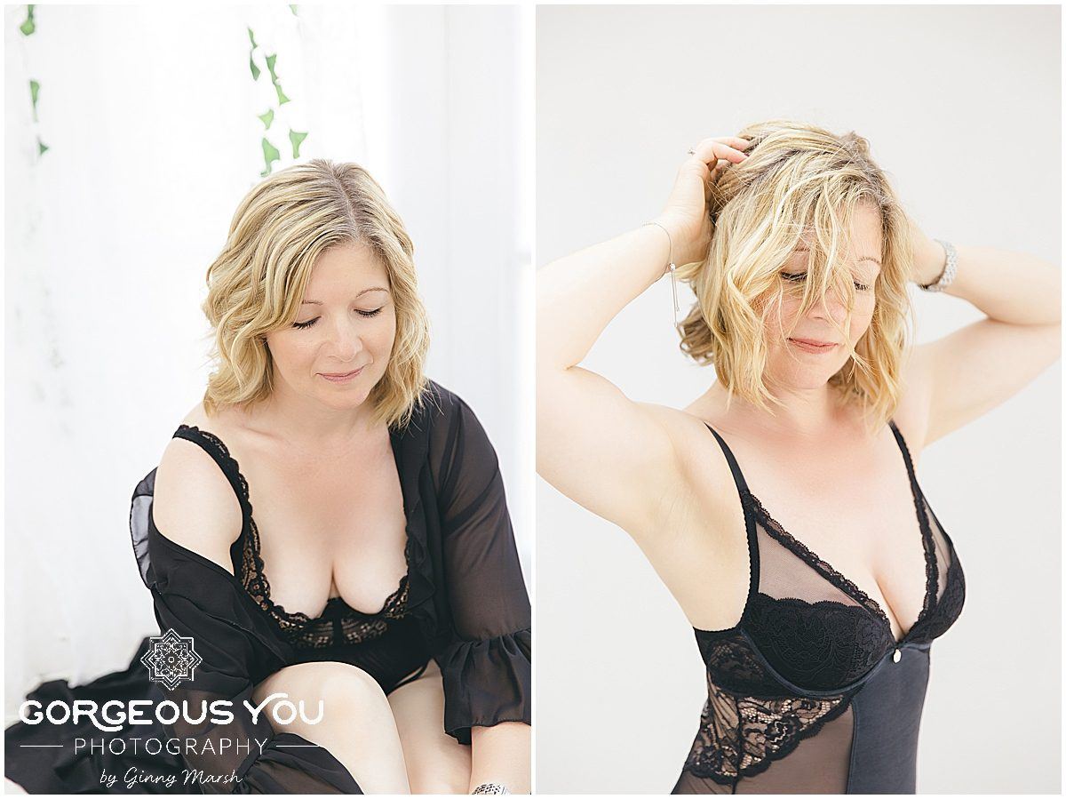 Sharon's 50th birthday boudoir shoot | Gorgeous You Photography