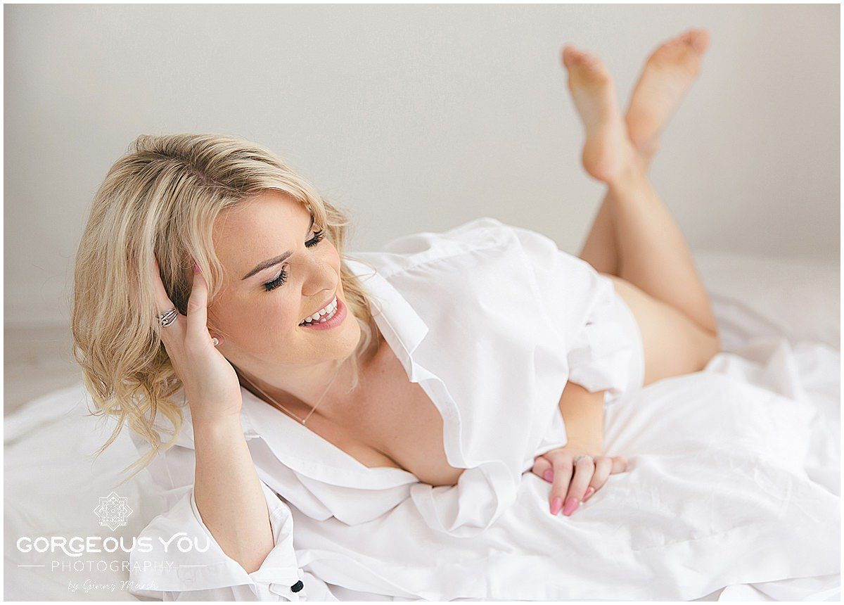 Sara's Fabulous at 40 Boudoir photoshoot | Gorgeous You Photography Surrey