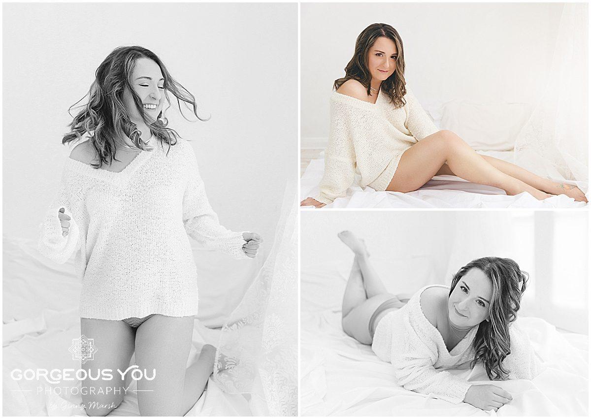 Ruxandra's 30th birthday boudoir photoshoot | Gorgeous You Photography