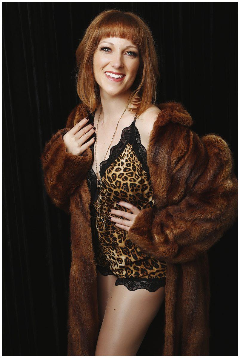 Ginny Marsh - weight loss boudoir photoshoot