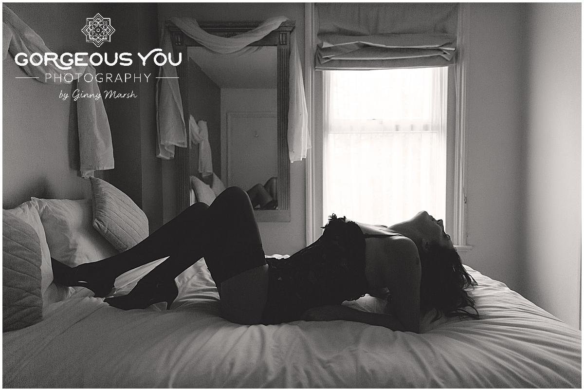 Lisa's empowering boudoir photoshoot | Gorgeous You Photography