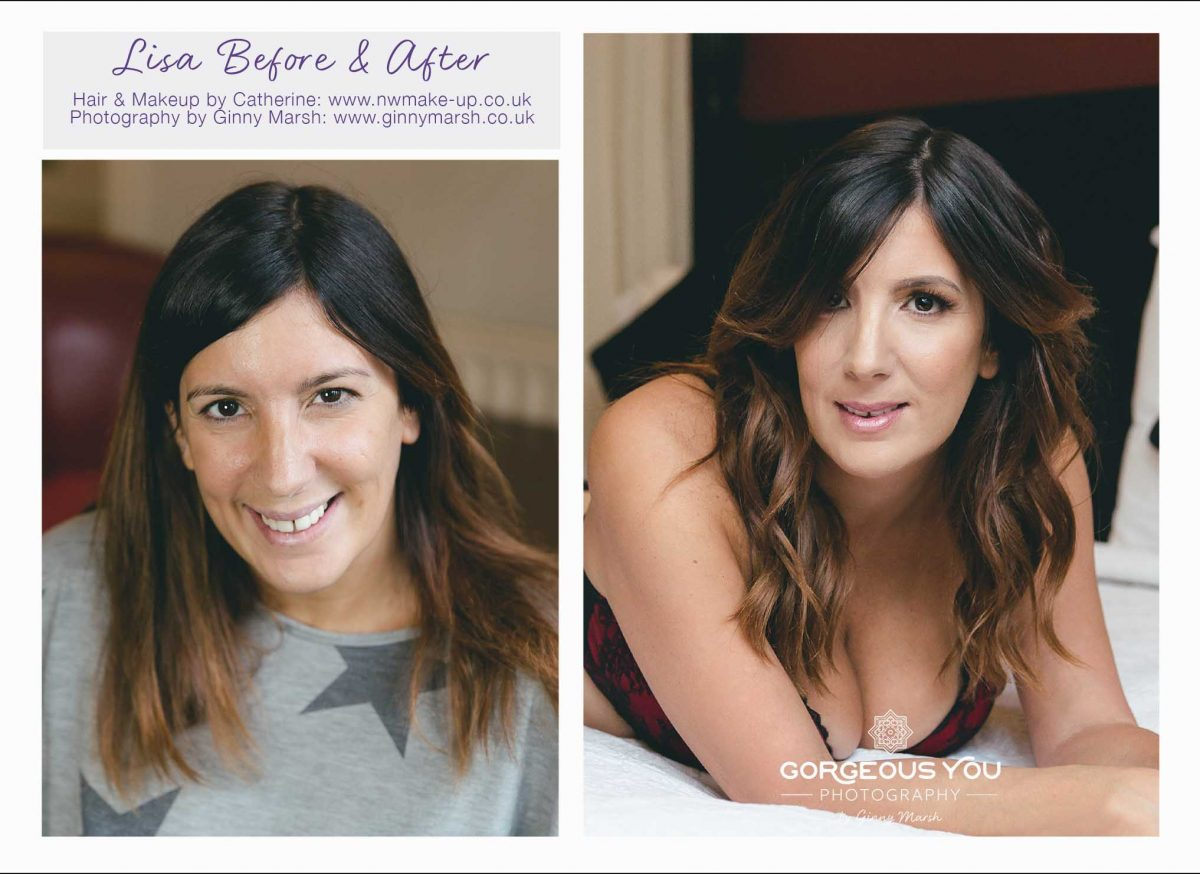Lisa Johnson before and after