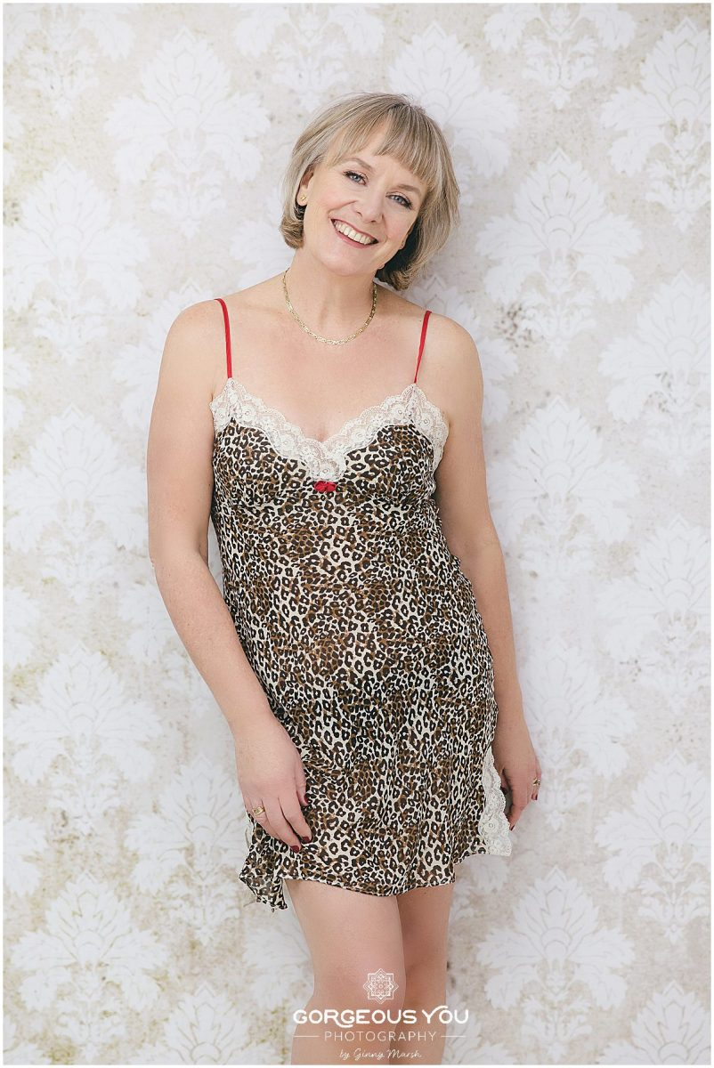 Linda's weight loss boudoir boudoir shoot | Gorgeous You Photography