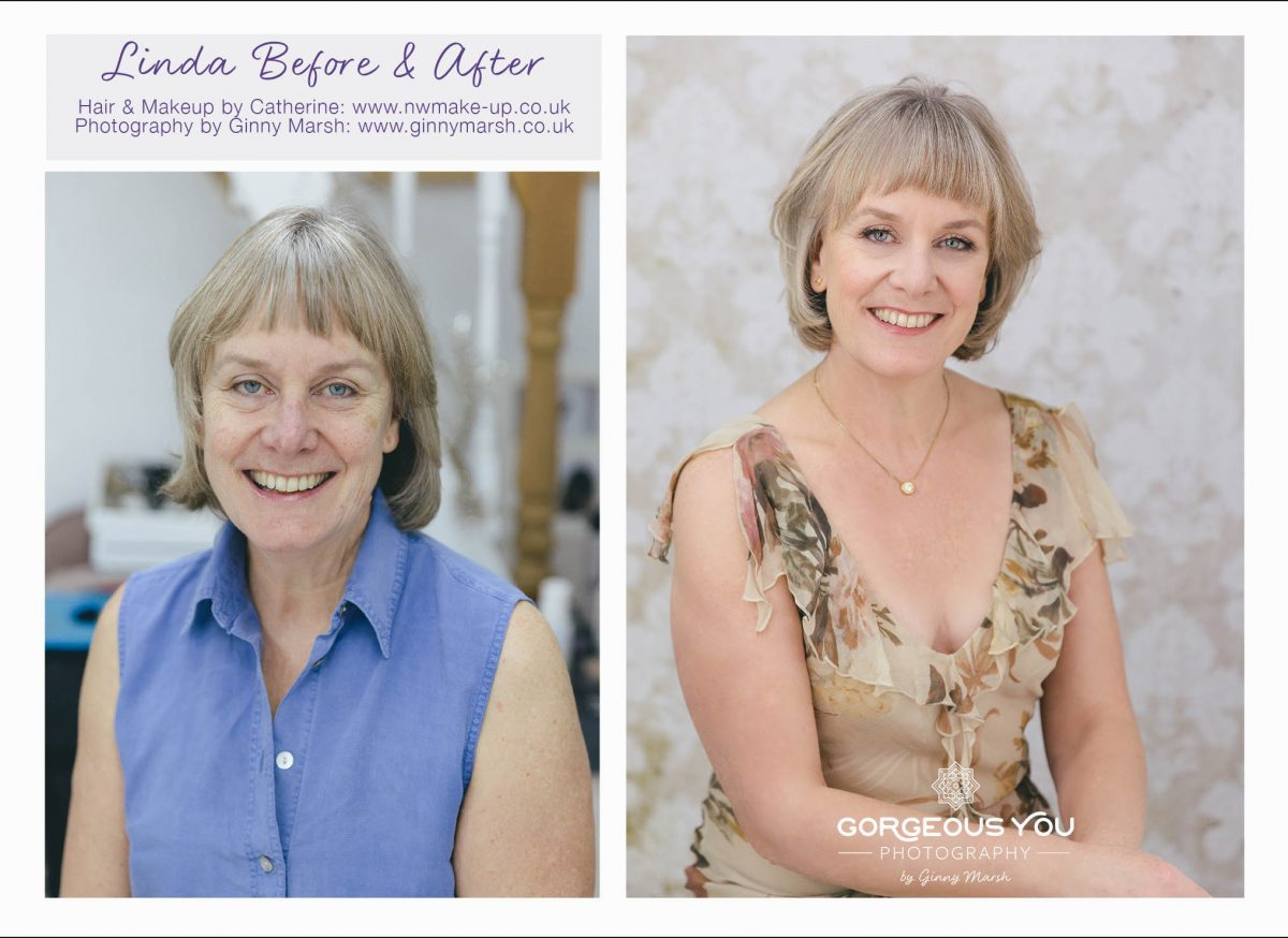 linda before and after | Gorgeous You Photography